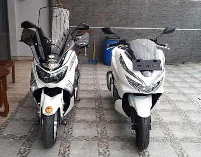 NMax vs All New PCX