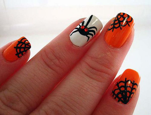Top 10 Halloween Nail Art Ideas – Part 2