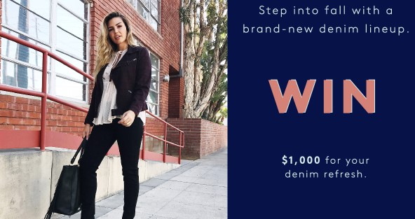 REFINERY29 LIVERPOOL JEANS SWEEPSTAKES