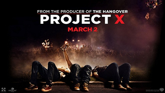 Project X 2012 English Movie HD 720p Download