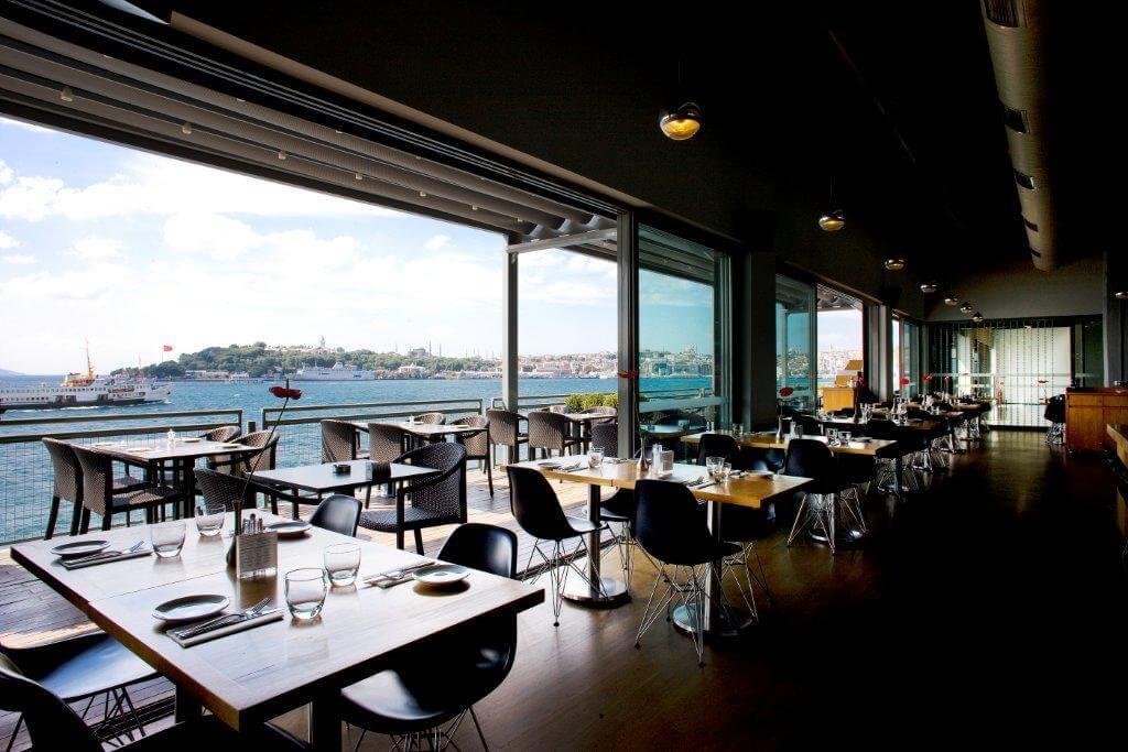 İstanbul Modern Cafe Restaurant Karaköy