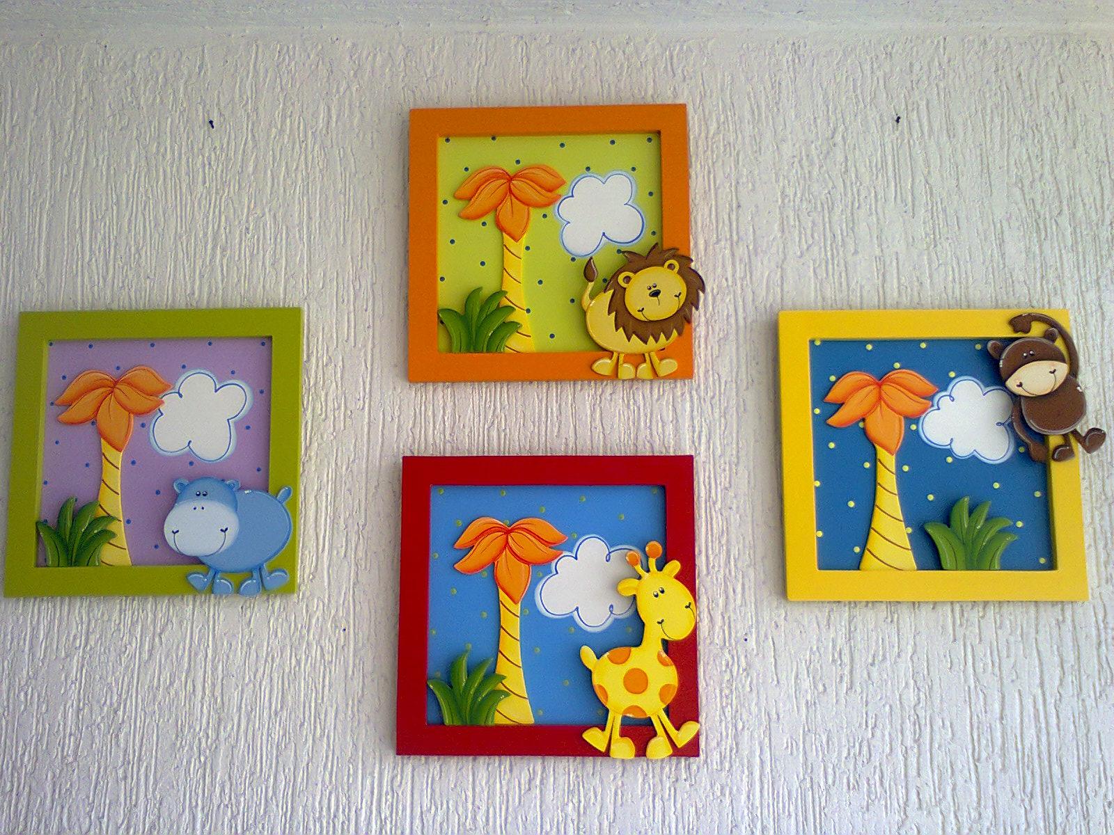 Aventuras country cuadros infantiles - Letras para decorar habitaciones infantiles ...