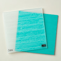 Click here to learn more about Pinewood Planks embossing folder by Stampin' Up!