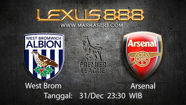 PREDIKSIBOLA - PREDIKSI TARUHAN BOLA WEST BROM VS ARSENAL 31 DESEMBER 2017 ( ENGLISH PREMIER LEAGUE )