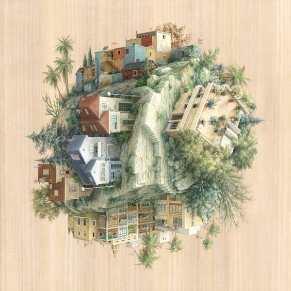 Desain Ilustrasi Arsitektur Rumah