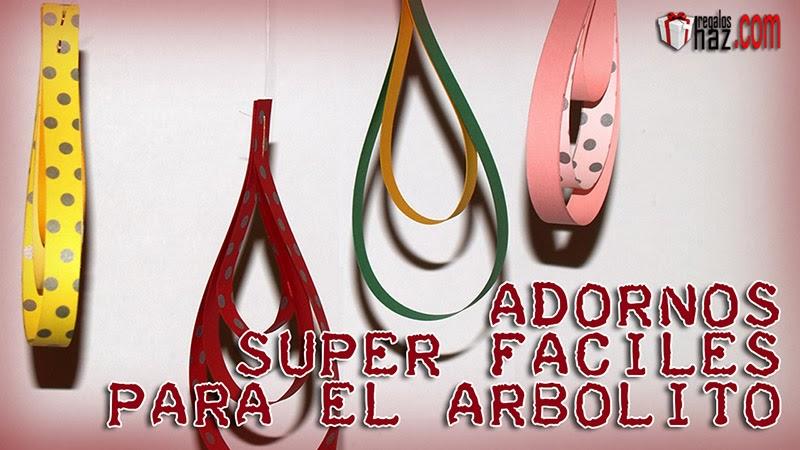 ADORNOS SUPERFÁCILES PARA EL ARBOLITO