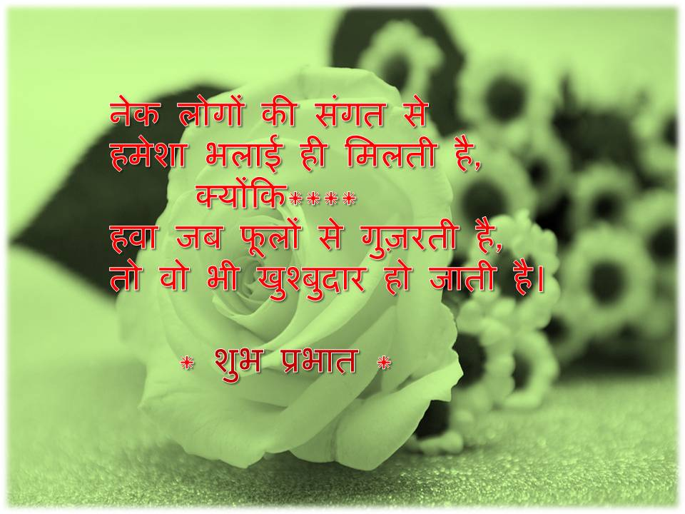 Good Morning Wednesday Images And Quotes In Hindi Archidev