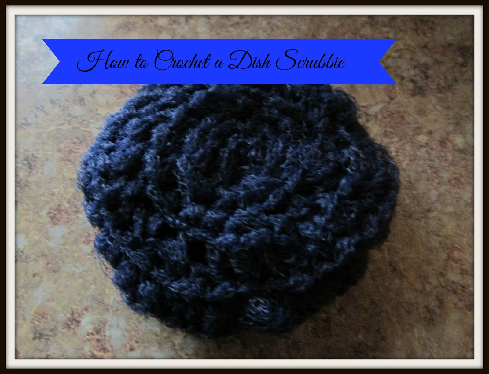 Vickies Kitchen And Garden How To Crochet A Dish Scrubbie