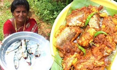 Village Foods- Amazing Taste Fish Fry Recipe- Roasted Fish – Delicious Fish Fry Recipes