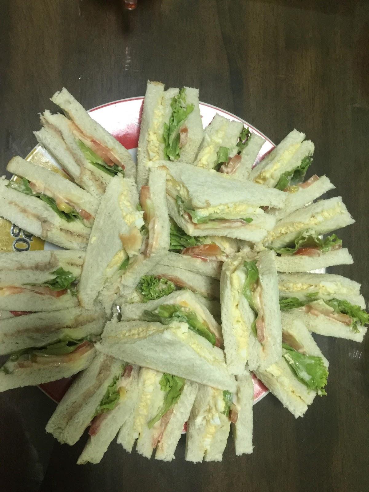sandwich, resepi mudah sandwich, mudahnya menyediakan sandwich tuna, sandwich telur