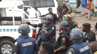 man arrested human head lagos