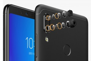 Lenovo K5 Pro dual rear camera along with finger scanner