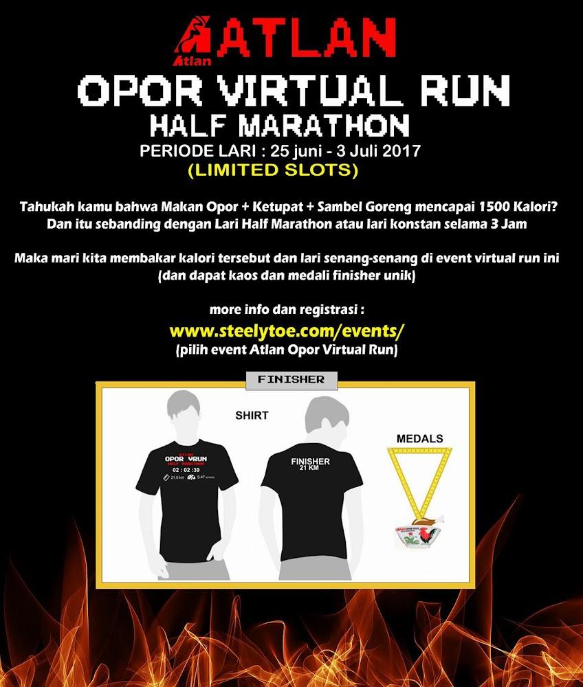 Atlan Opor Virtual Run • 2017