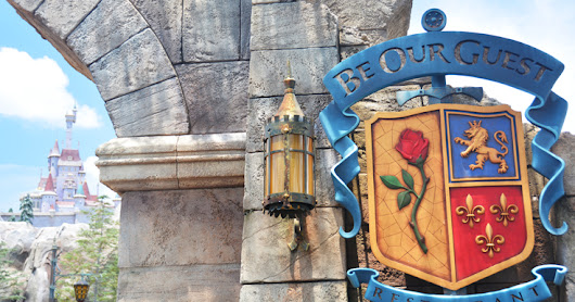 Almost #WW Linky | Be Our Guest Restaurant Details