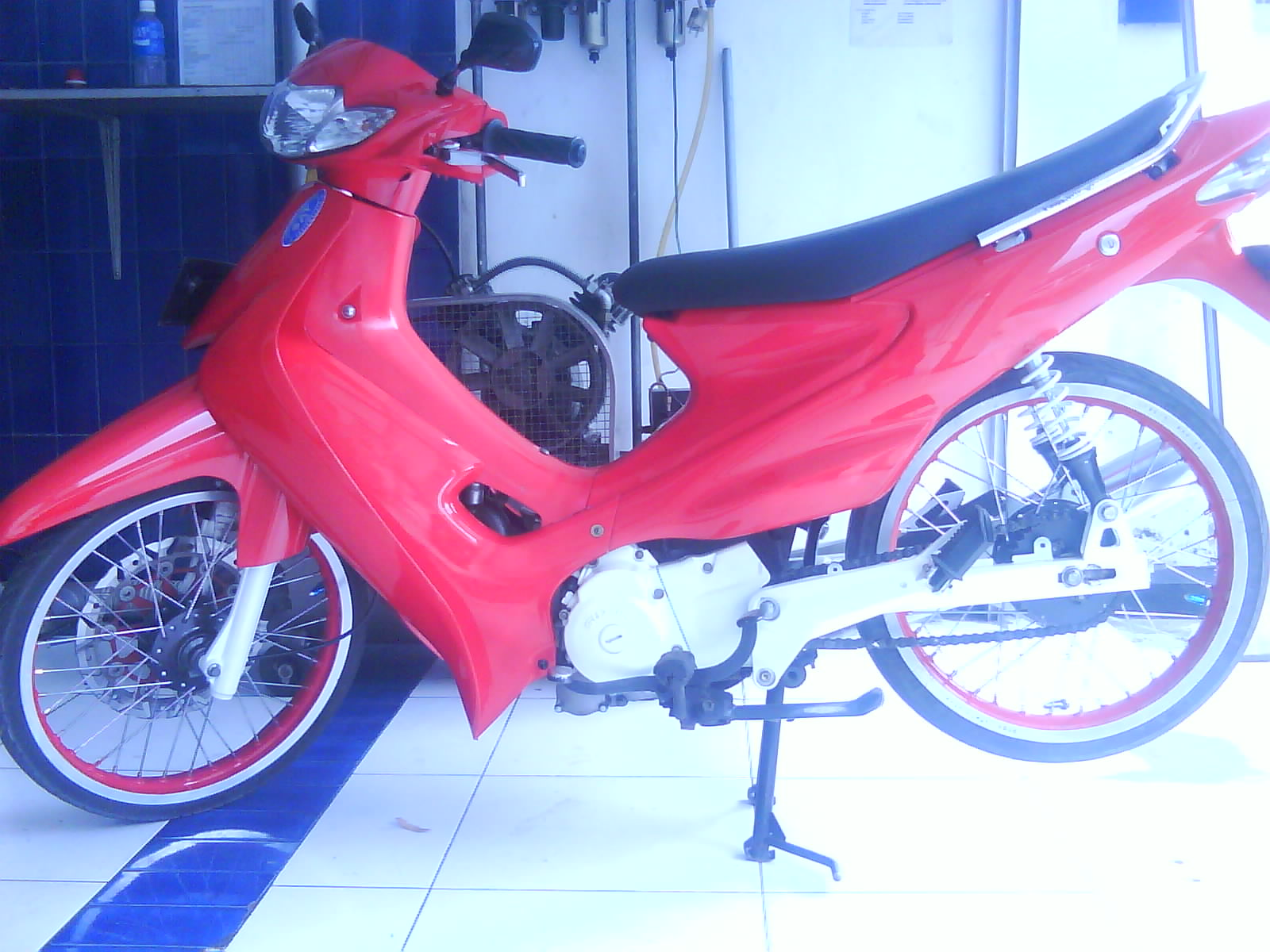 Street Fighter Motorcycle >> modif motor: Suzuki Smash Modification at Malang Indonesia