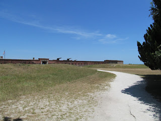 The Long Path to Enter Fort Clinch in Amelia Island Florida