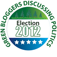 2012 election button related to green issues