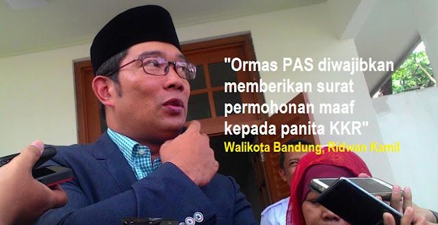 WaliKota Bandung, Ridwan Kamil (Emil)