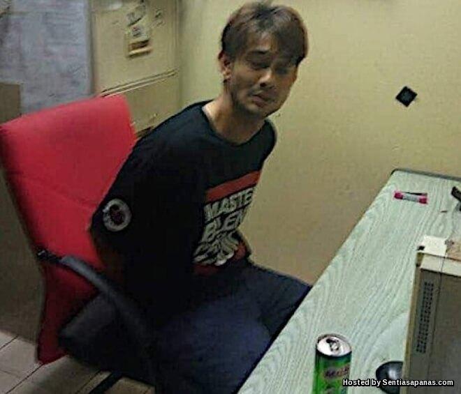 Farid Kamil Tampar Polis Dalam Keadaan Khayal Dadah!