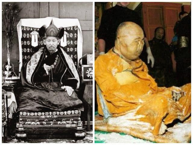 mayat Dashi-Dorzho Itigilov yang tetap utuh dan tidak rusak walaupun berusia ratusan tahun