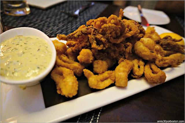Fried Calamari del Restaurante Oceana en Nueva York