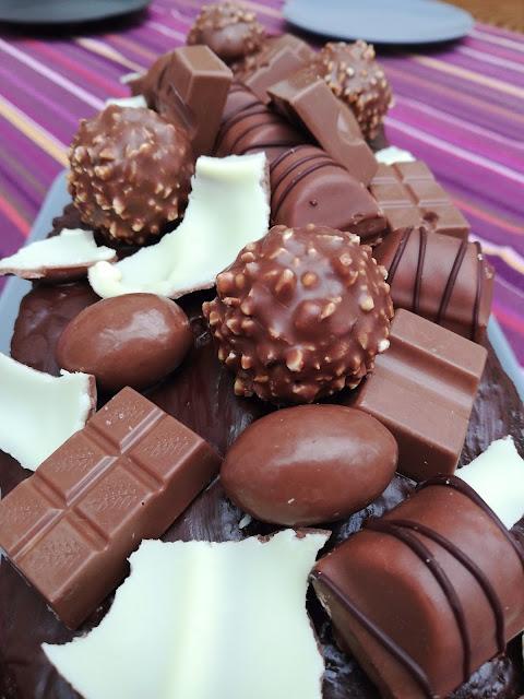 #28daysofblogging…Teenager-Geburtstagskuchen mit viel Schokolade