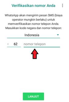 Verifikasi Nomor WhatsApp