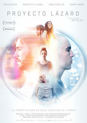 Proyecto Lázaro - Cartel de la película de Mateo Gil