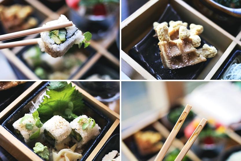 sushi waffle