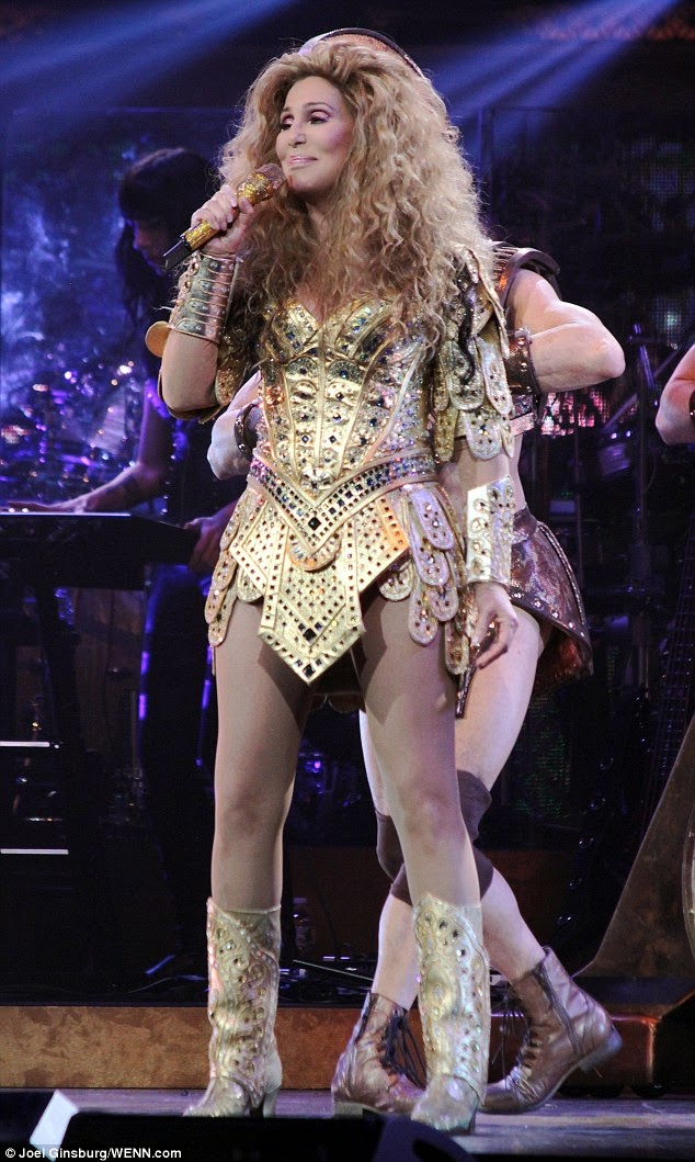 Oh Grandma 67 Year Old Cher Stuns Fans With Daring
