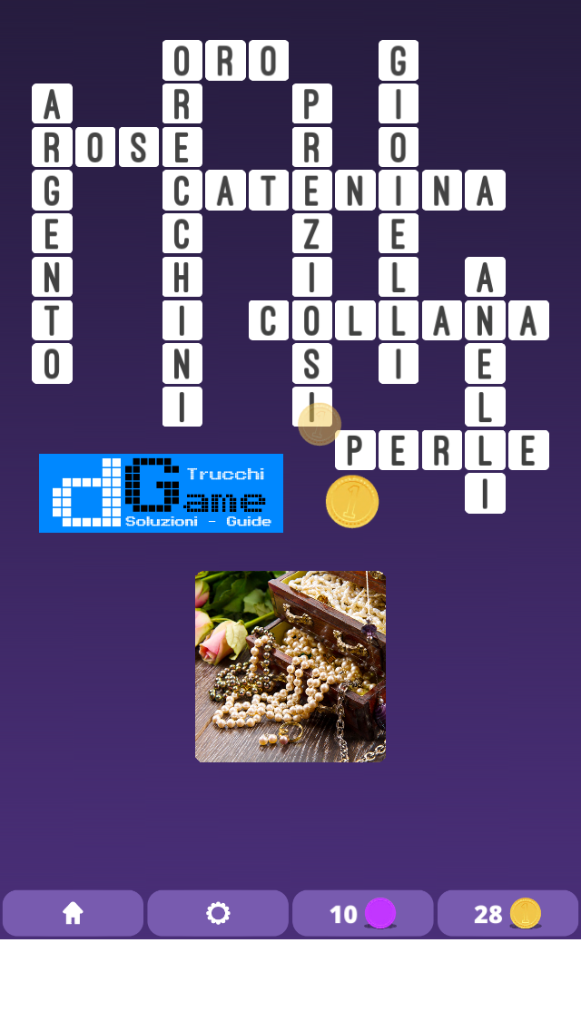 Soluzioni One Clue Crossword livello 1 Schema 2  (Cruciverba illustrato)