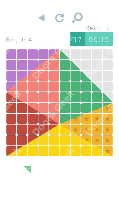 Cheats, Walkthrough for Blocks and Shapes Level 104