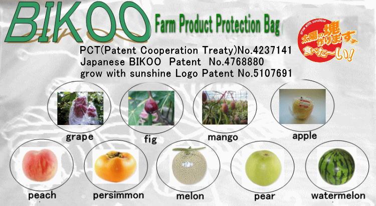btop e - túi bảo vệ quả trái Nhật Bản BIKOO