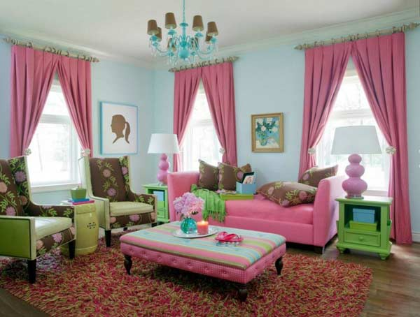 Colorful curtains for living room Large Print Floral Curtain Designscurtain Designs 2019curtain Ideascurtain Colors 2019 3dex Art New Curtain Designs Ideas And Colors 2019 For Any Room