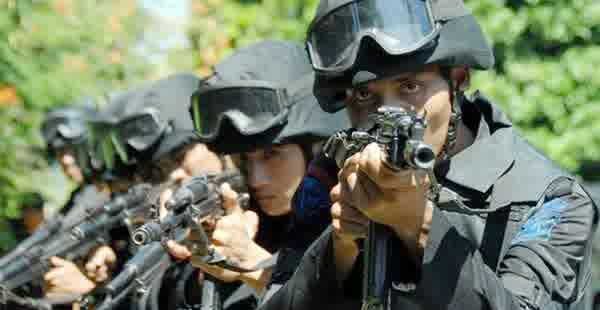 gambar Korps Brimob kepolisian Indonesia