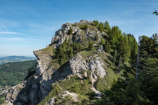 Gaisberg und Nockstein von Koppl  Wanderung FuschlseeRegion  Wandern Salzkammergut 08