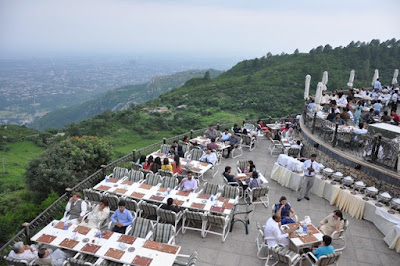 Image result for monal restaurant islamabad pakistan