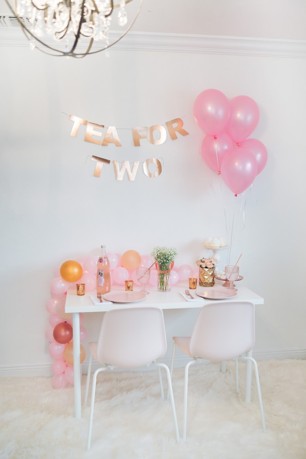Mother's Day Tea for Two by popular party planning, the Celebration Stylist
