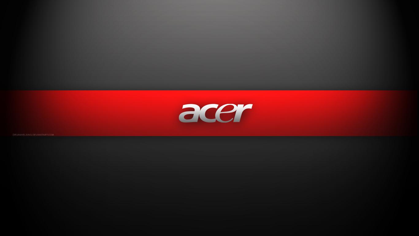 Acer Black N Red Full Hd 1920x1080 Wallpaper