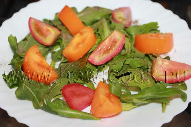 рецепт салата с клубникой и моцареллой с пошаговыми фото