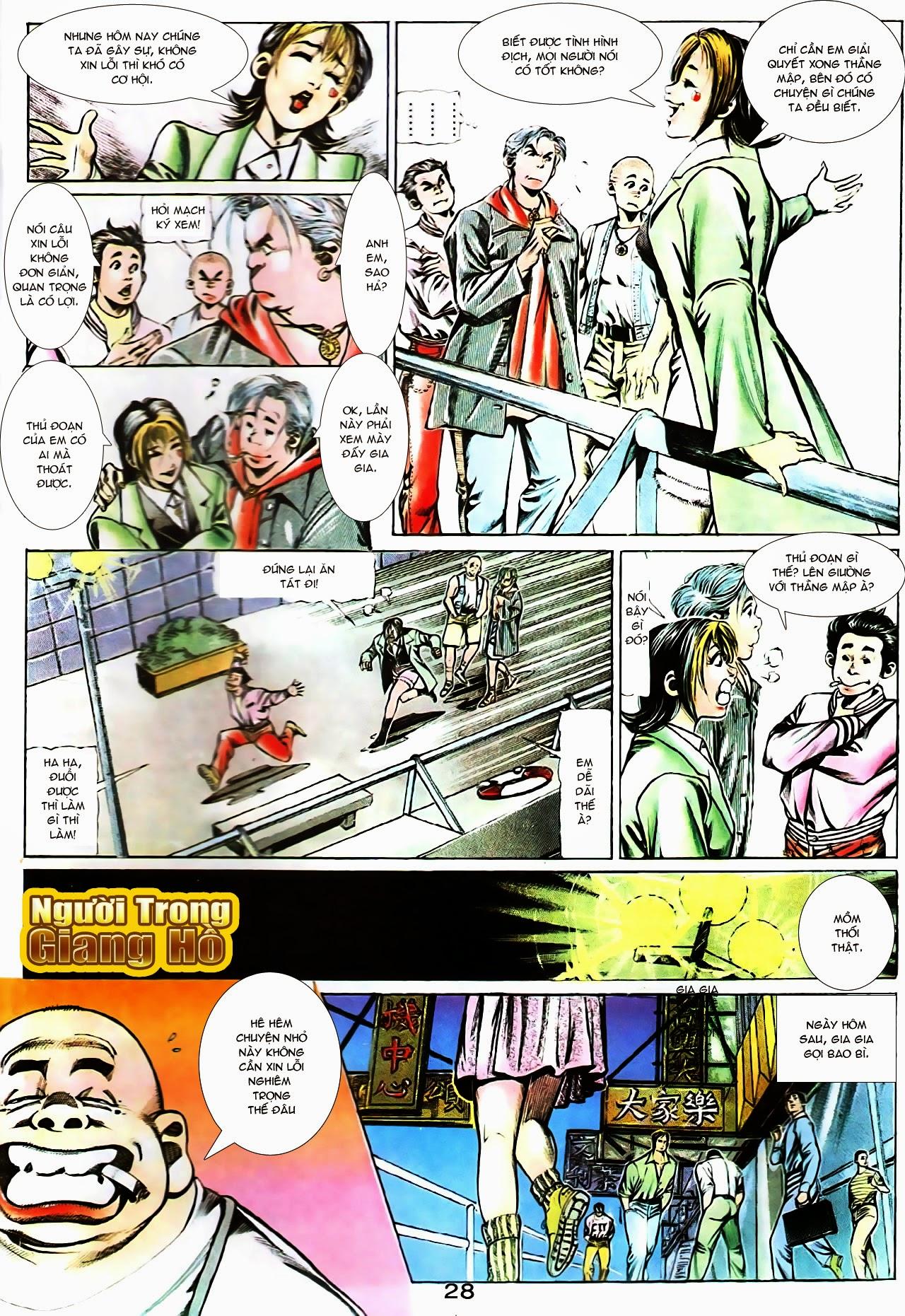 Người Trong Giang Hồ chapter 104: tuổi trẻ máu lửa trang 8