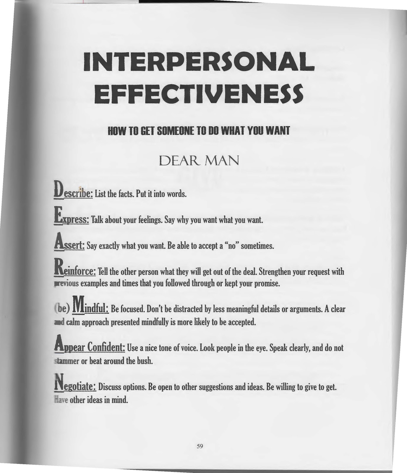 The Art Of Dialectical Behavior Therapy Interpersonal