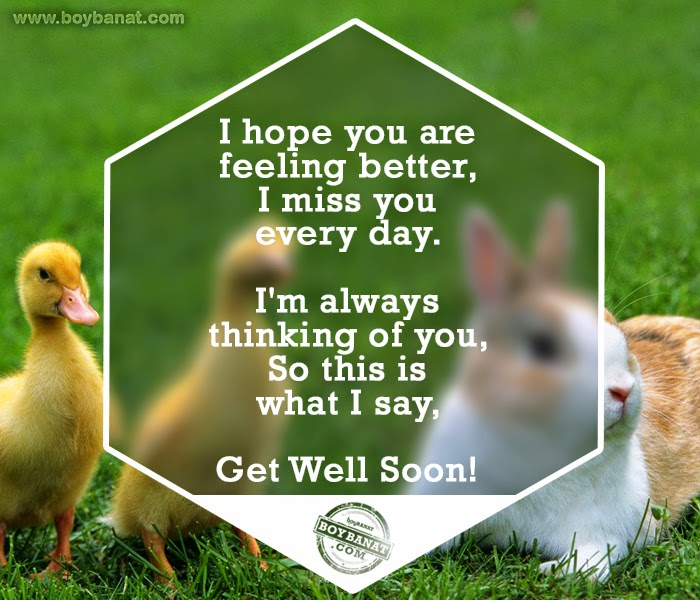 Feel Well Soon Messages: [2015 Quotes] Get Well Soon Quotes And Messages