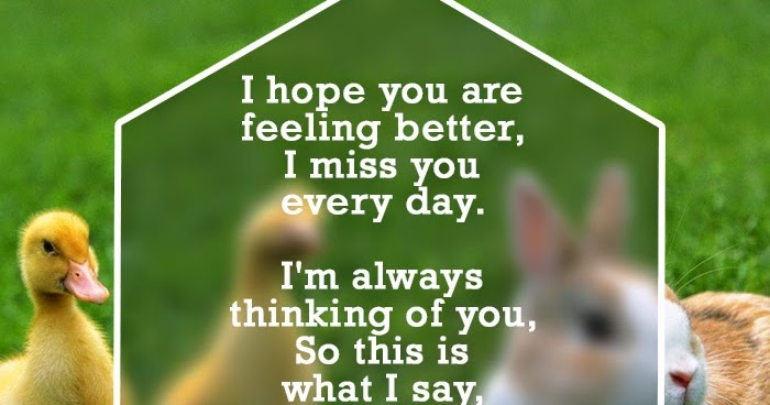 Get Well Soon Quotes and Messages ~ Boy Banat