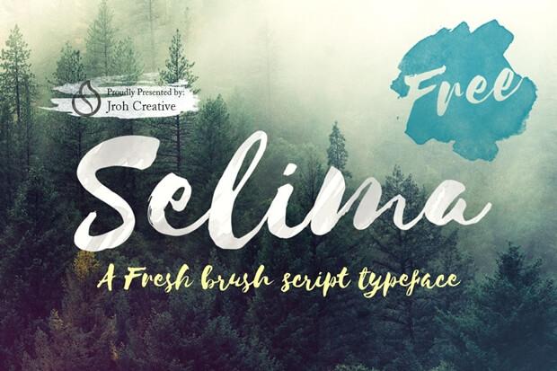 Selima_free font
