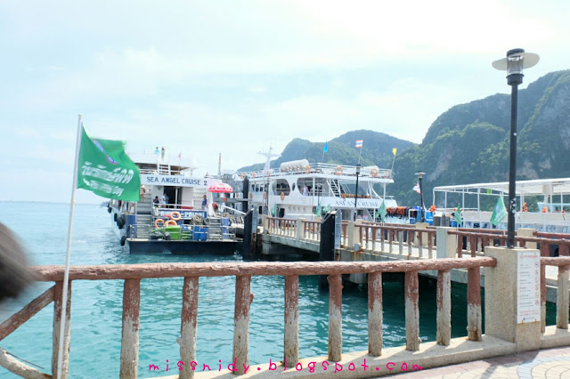 tonsai pier phiphi island