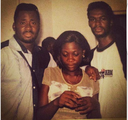 Check Out This Epic Throwback Picture Of Desmond Elliot And Mercy Johnson