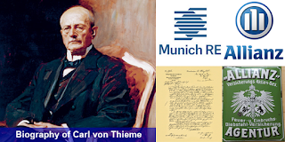 Biography of Carl von Thieme- Businessman and Founder of Munich Re and the Insurance Alliaz