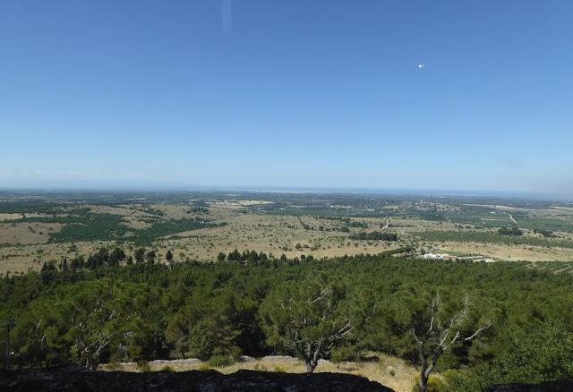 Panorama da Castel del Monte
