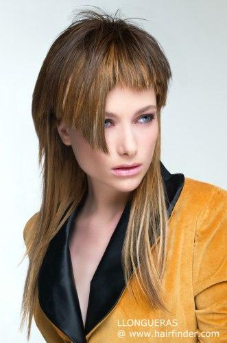 Cortes para cabello largo lacio de moda